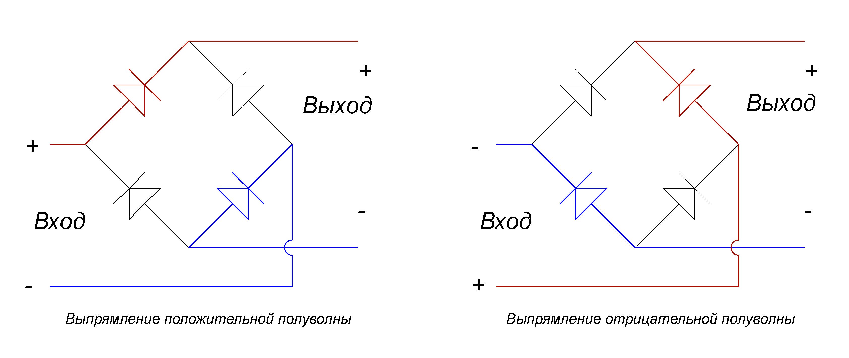 D3sb60 диодный мост внутренняя схема