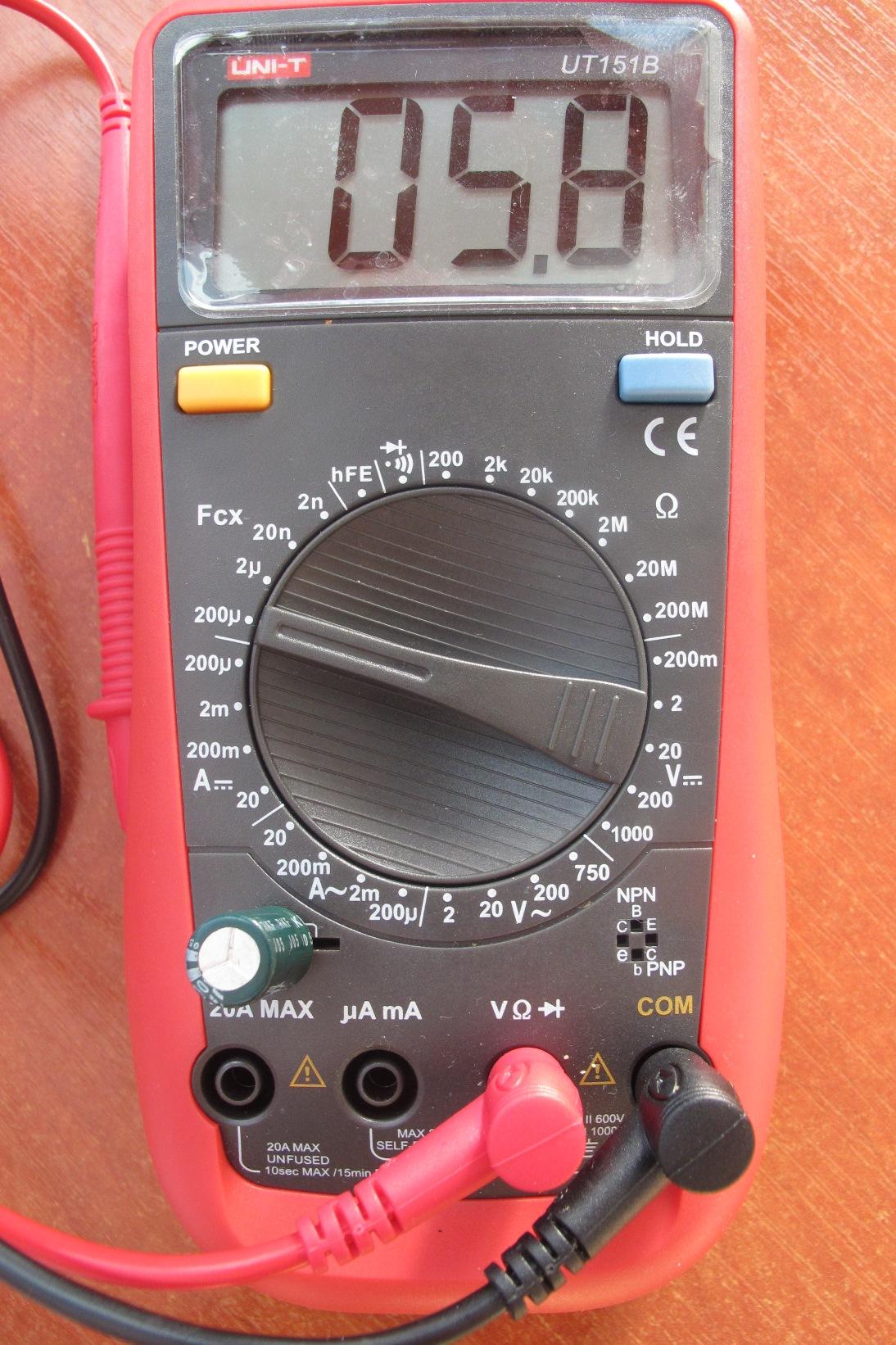 Как в схеме проверить конденсатор мультиметром не выпаивая