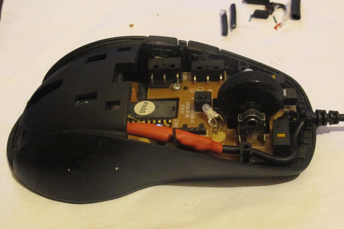 Ремонт мышки своими руками 26