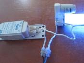 Как подключить лампу дневного света?