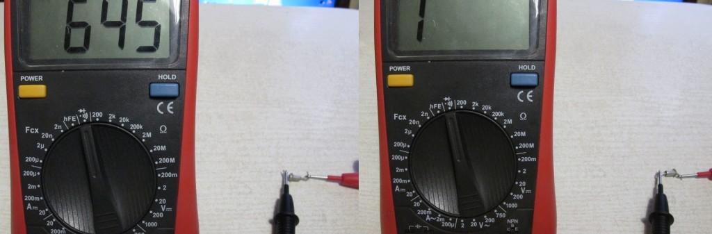 Как проверить стабилитрон мультиметром