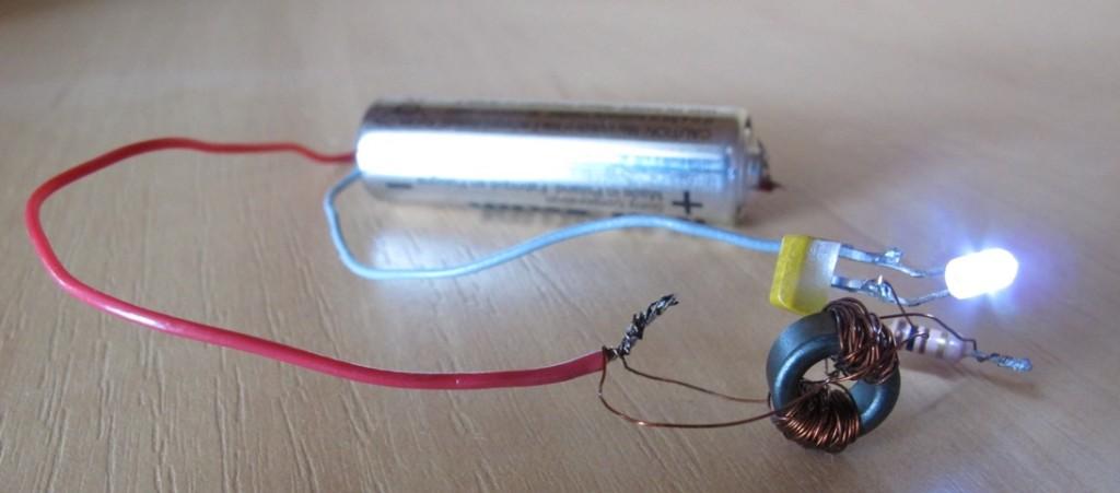 Самодельный драйвер к светодиоду
