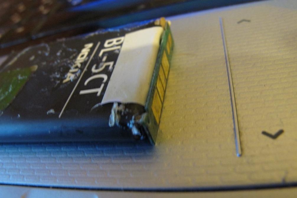 Ремонт аккумулятора телефона 3