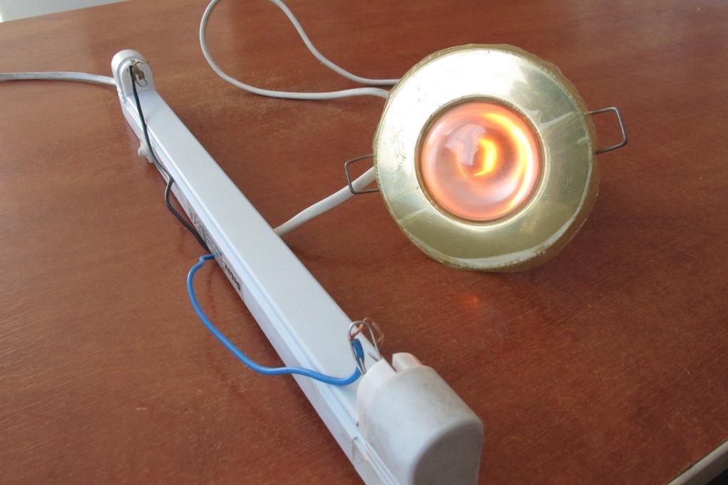 Как проверить балласт люминесцентной лампы