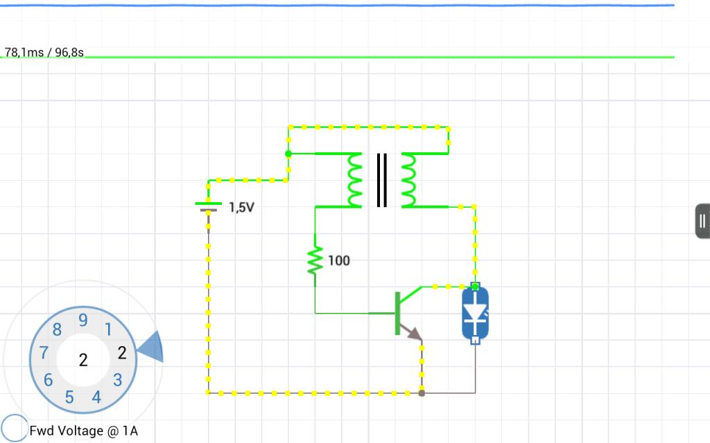 симулятора электрических цепей