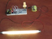 Преобразователь для лампы дневного света