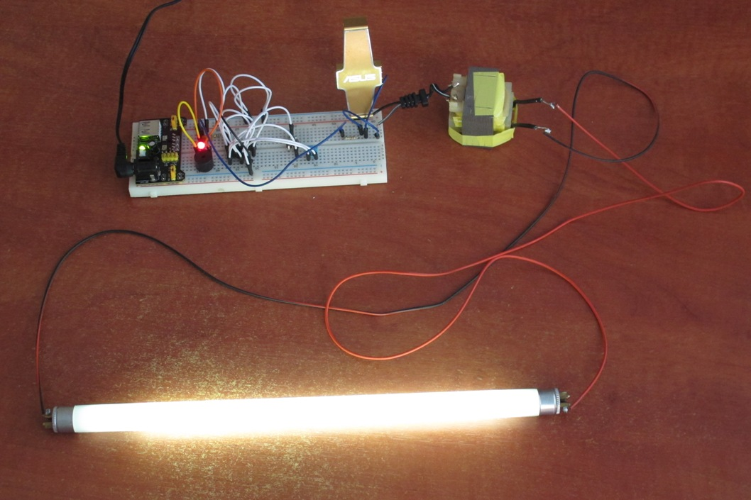 Корпус для ламп дневного света своими руками
