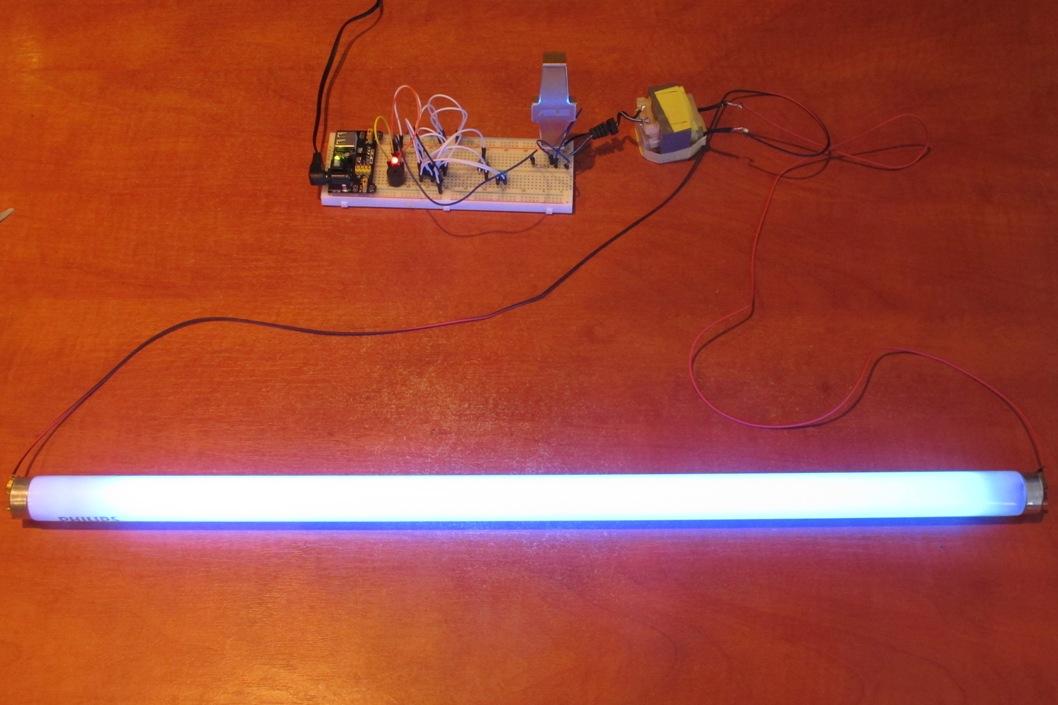 Светильник с светодиодными лампами своими руками 63