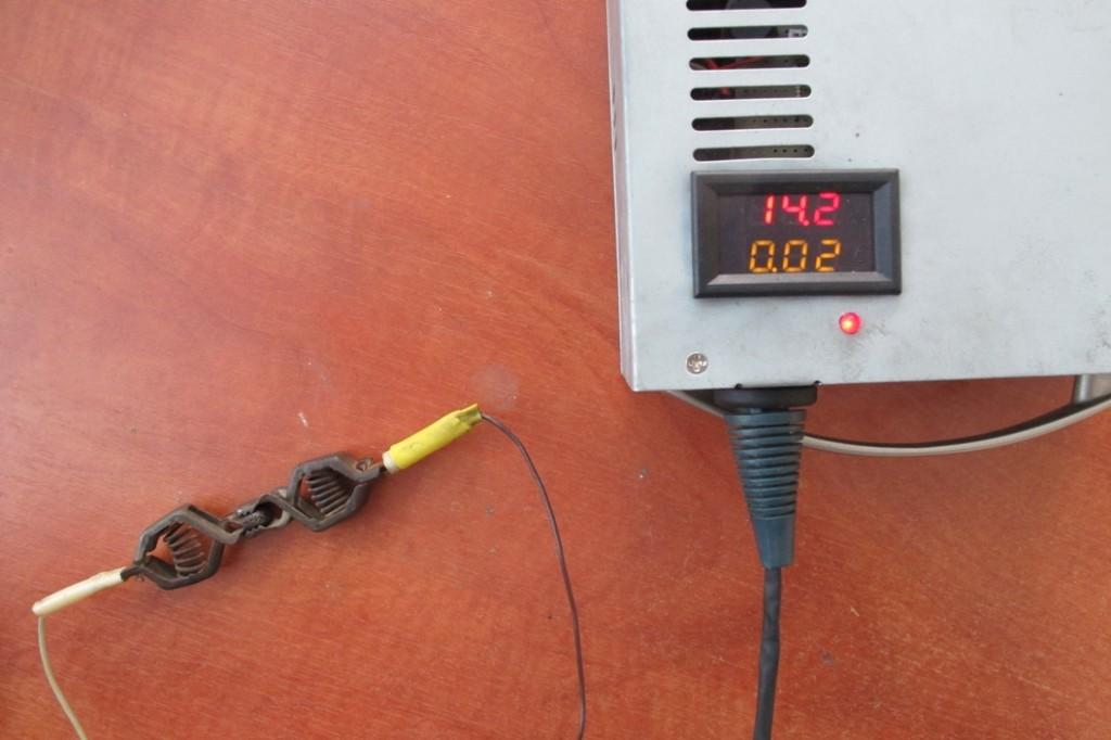 Защита от переполюсовки зарядного устройства