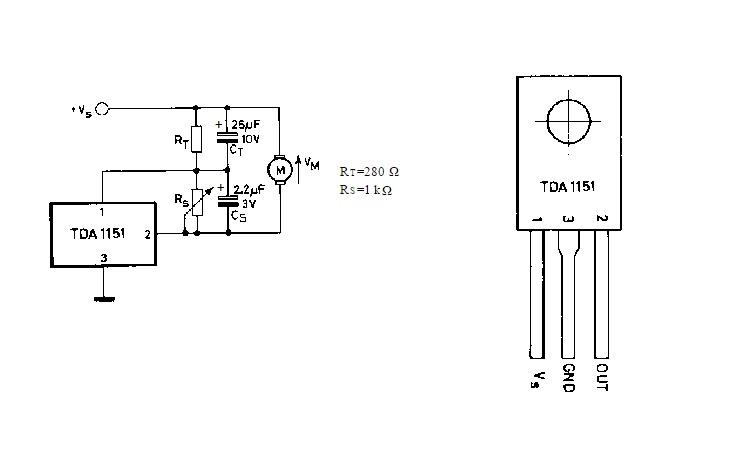 Регулятор скорости вращения кулера на TDA1151