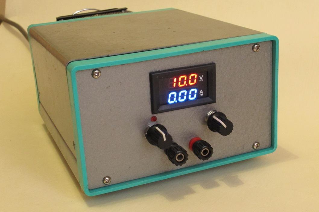 Лабораторный блок питания 1.3-30v 0-5a