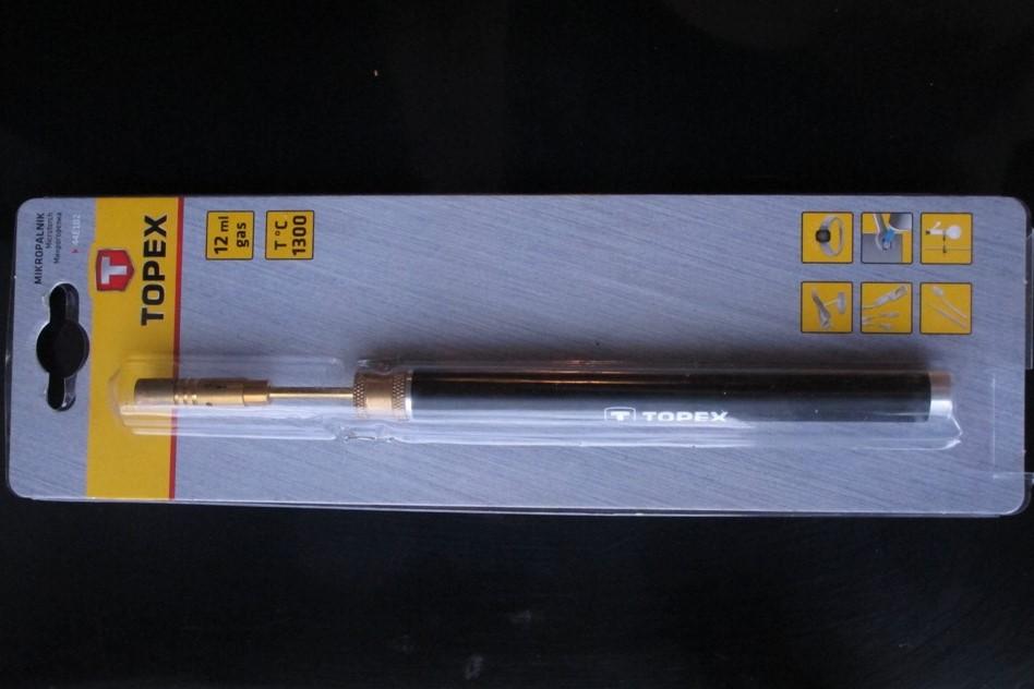 Газовая горелка Topex 44E102 обзор