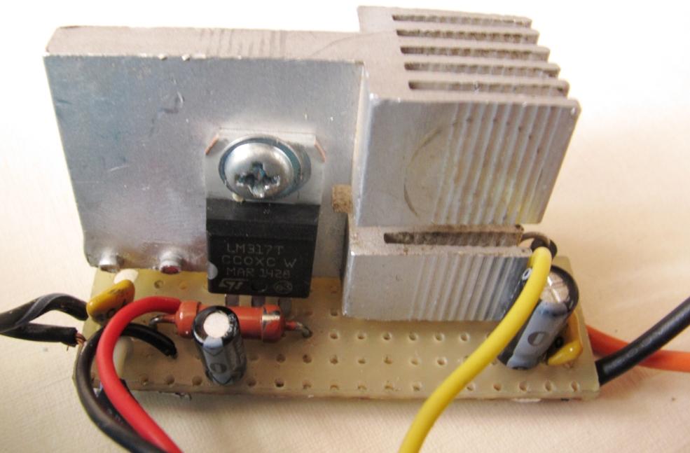 Variable Power Supply using LM317 Voltage Regulator - Diodnik