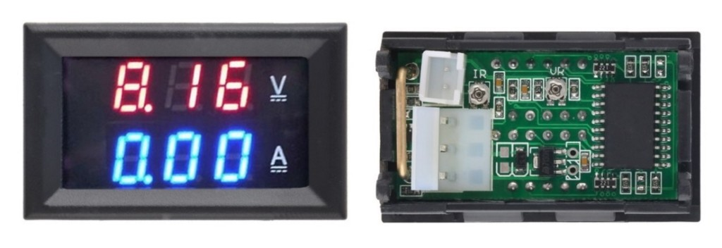 Подключение вольтамперметра