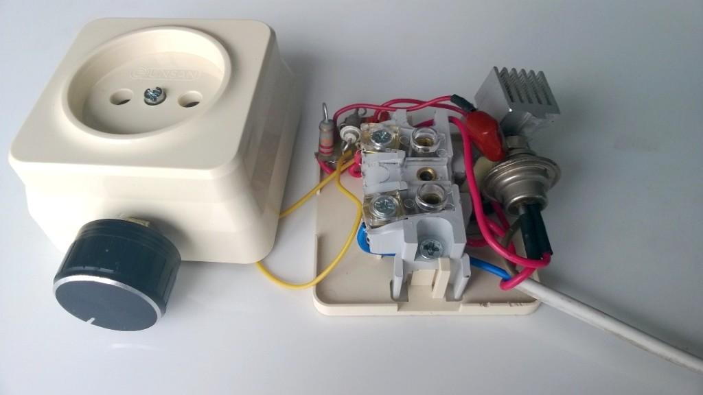 тиристорный регулятор мощности для тэна
