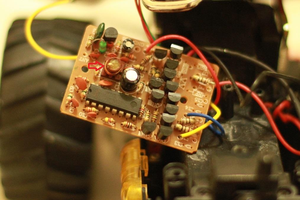 Как изменить частоту радиоуправляемой машинки