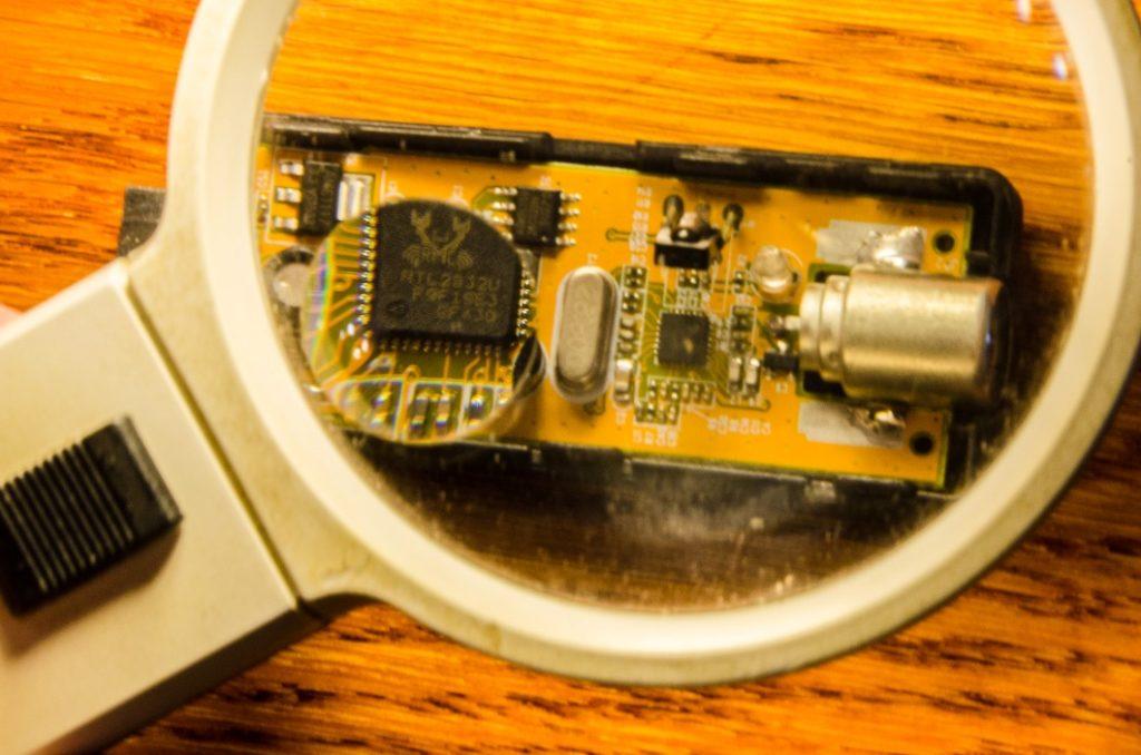 обзор USB TV FM + DAB DVB-T RTL2832U + R820T