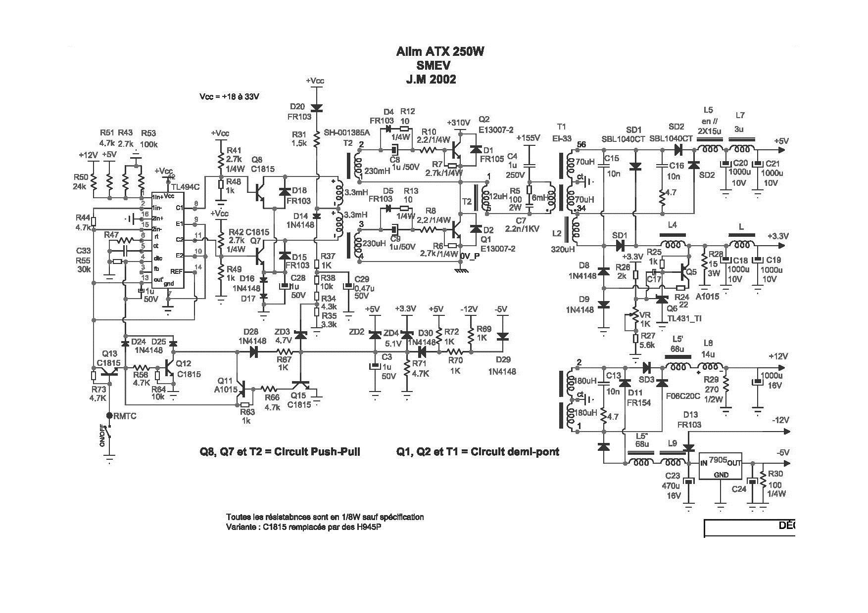 Схема lw2 300w lec 026 ver 1.0