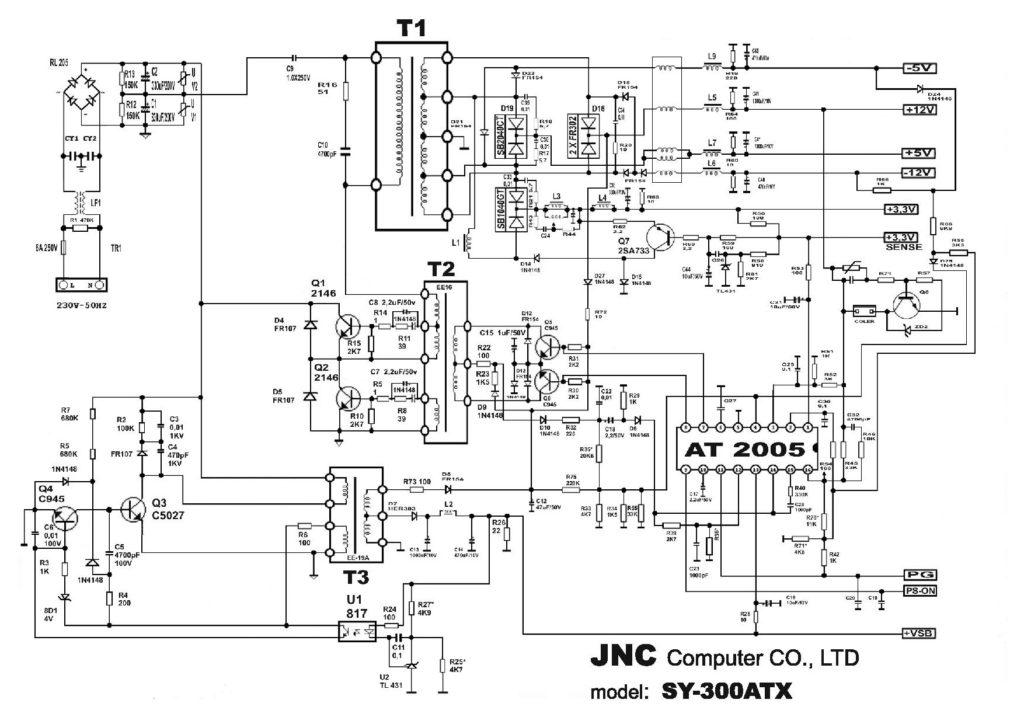 Схема JNC SY-300ATX