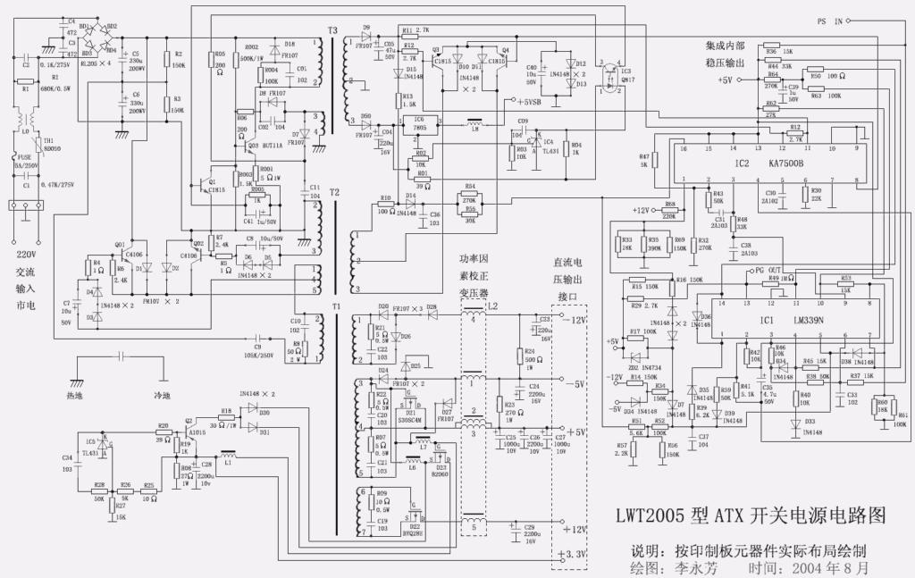Схема LWT 2005
