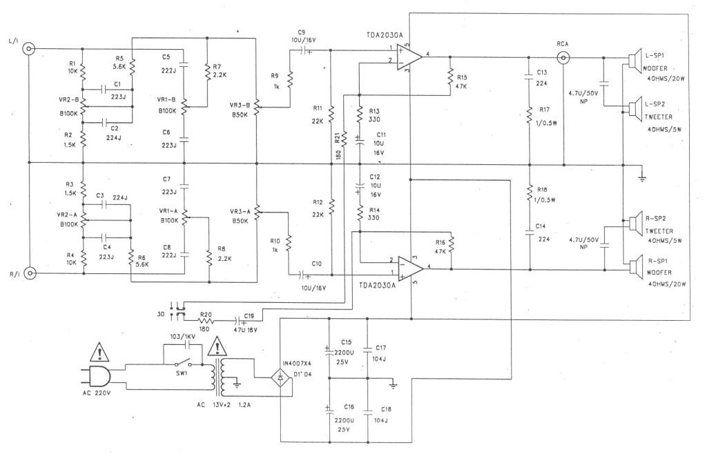 Схема SVEN SPS-678