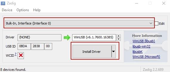 Установка SDRSharp на Windows 10