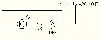 Db4 динистор характеристики маркировка