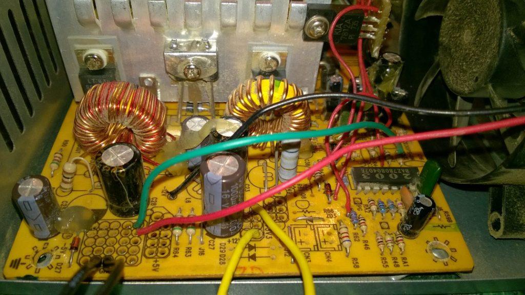 Переделка блока питания в зарядное устройство
