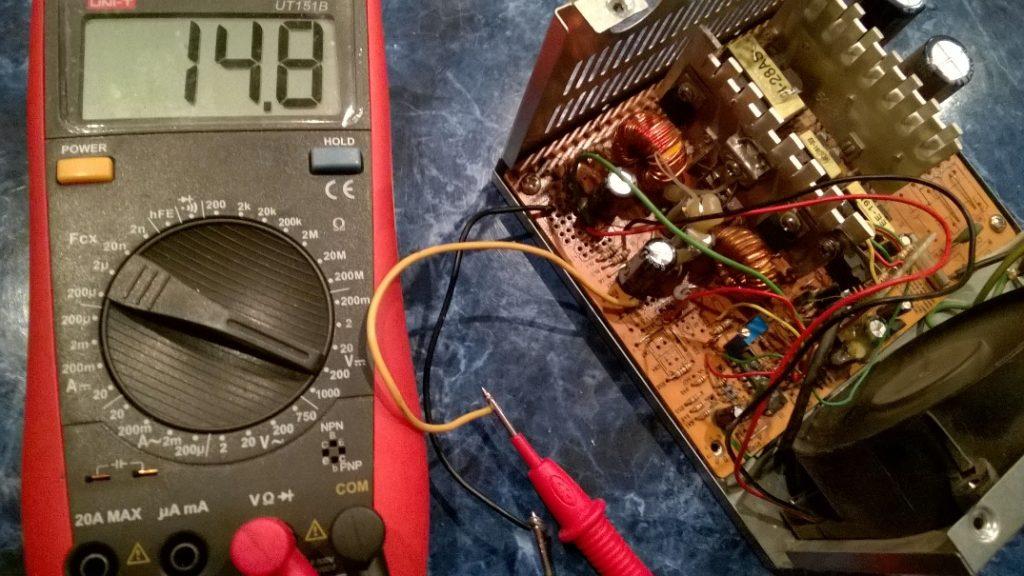 Зарядное устройство из блока питания на ШИМ 2003