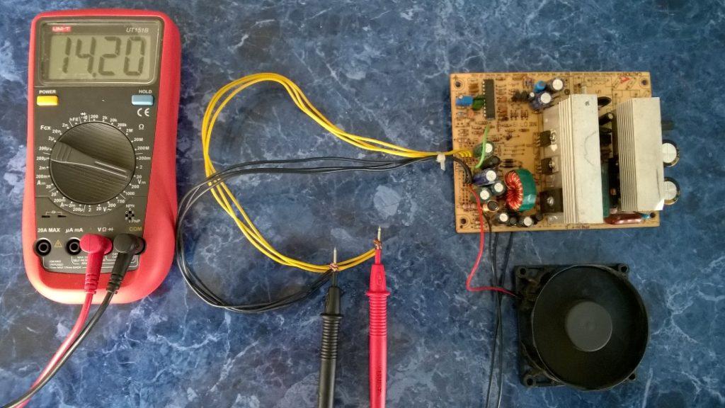 Переделка БП АТХ в зарядное на SG6105