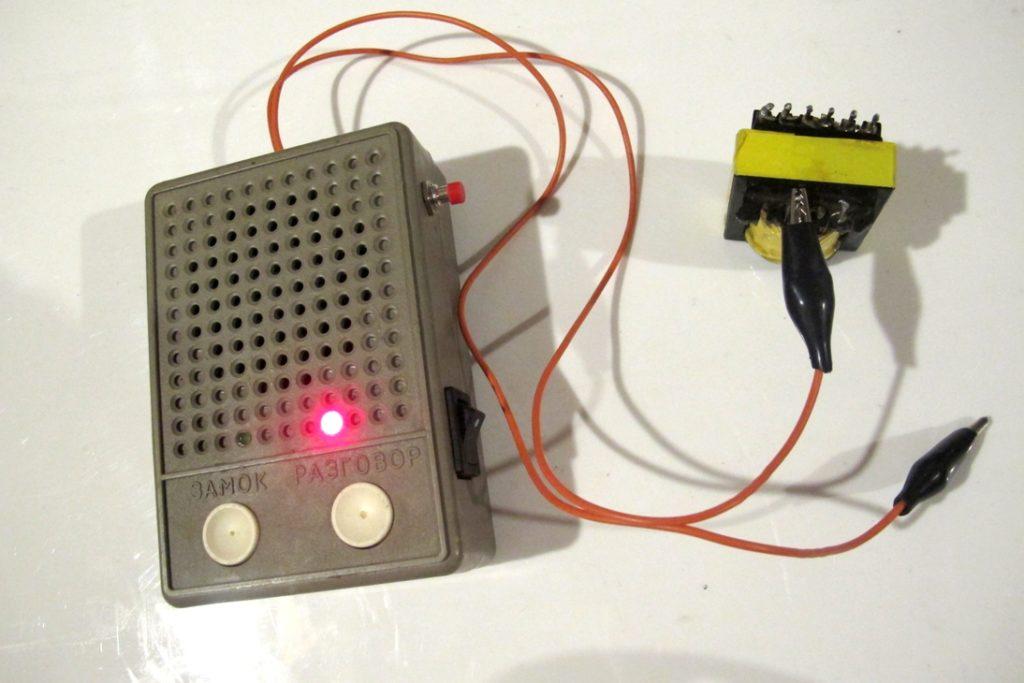 Прибор для проверки межвиткового замыкания схема