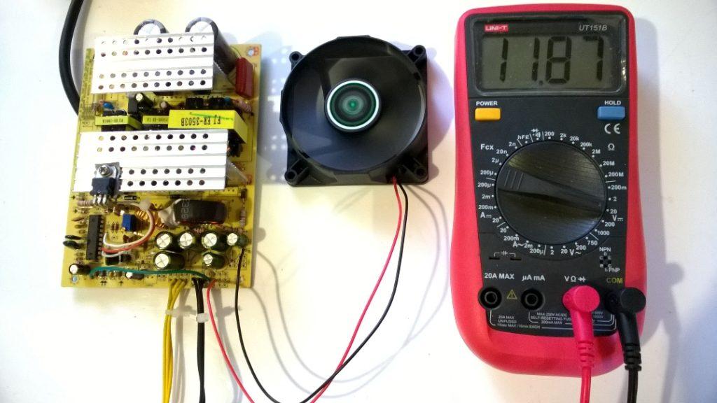 зарядное из блока питания компьютера на ШИМ HS8108b