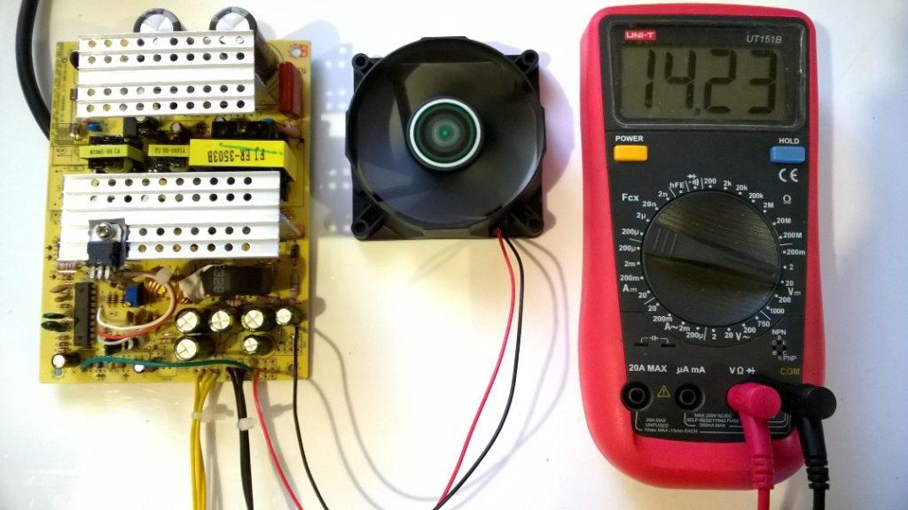 зарядное из блока питания компьютера на SG6105
