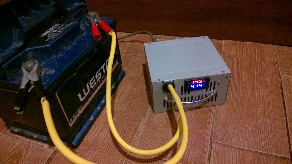 Зарядное устройство своими руками с блока питания от компьютера