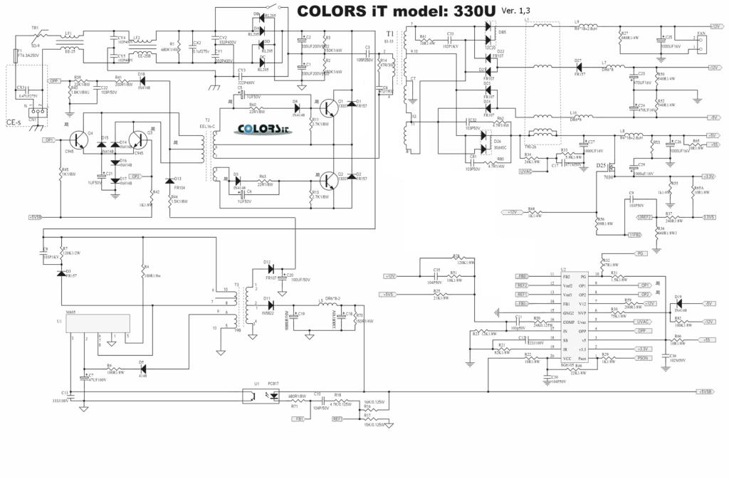 схема БП SG6105