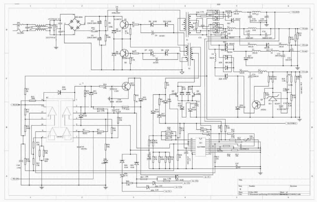 схема Microlab 350w