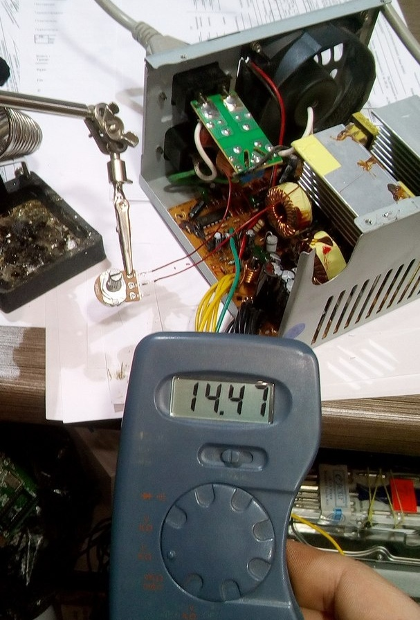 Переделка блока ATX в зарядное устройство