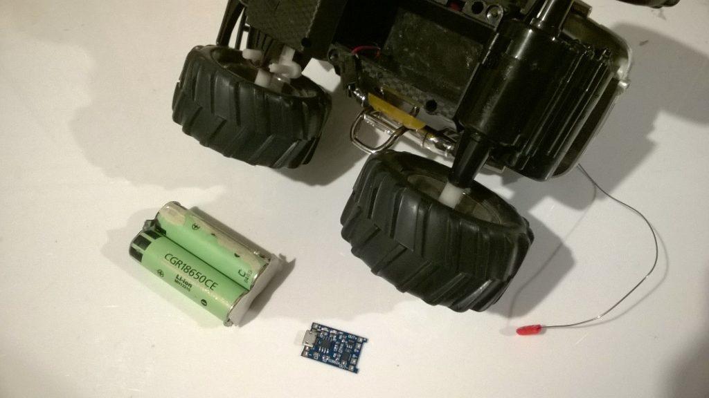 Переделка радиоуправляемой машинки