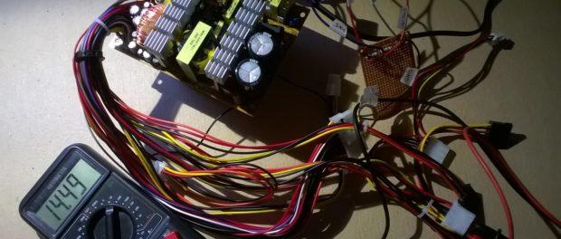 Переделка компьютерного блока в зарядное