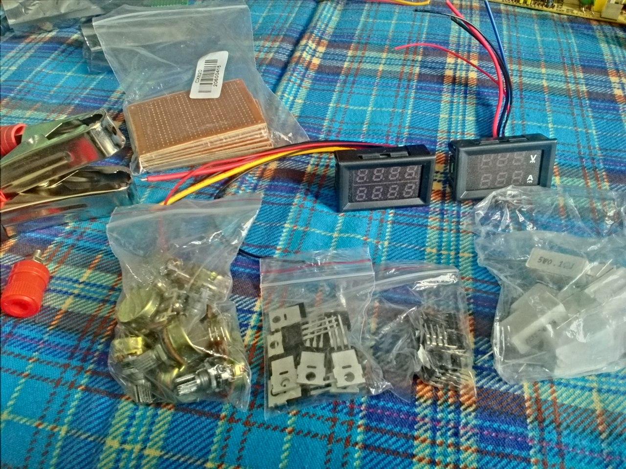 Из компьютерного блока питания - лабораторный и зарядное 956