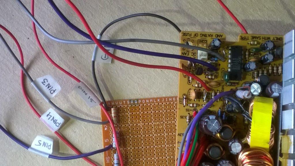 переделка компьютерного блока в зарядное устройство 2005