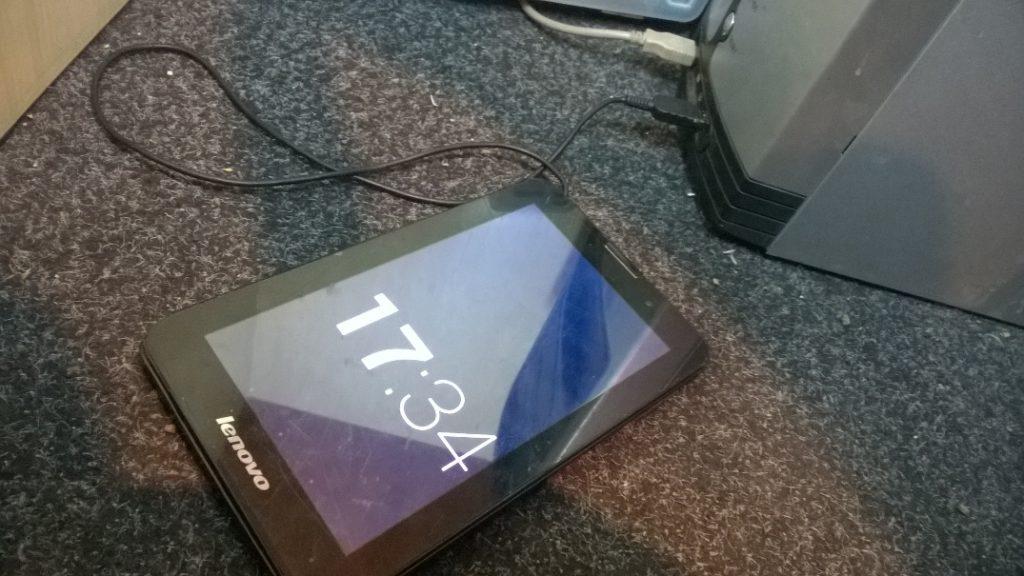 Вырван micro USB Lenovo A3000f