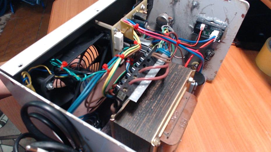 лабораторный блок питания трансформатор