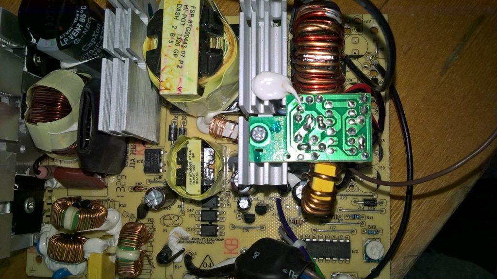 Переделка компьютерного блока питания FSP ATX-500PNR 500W в зарядное устройство