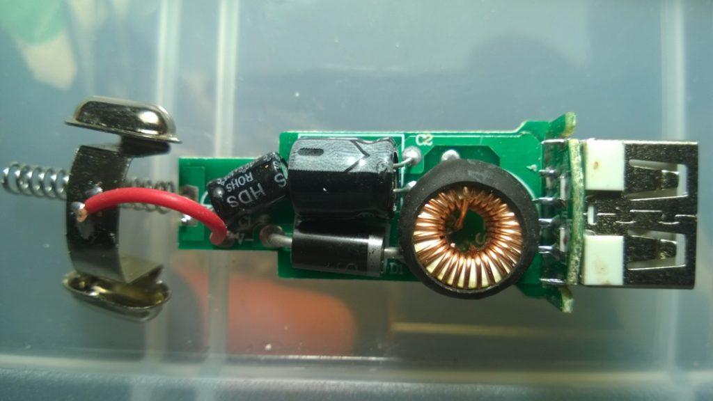 Ремонт USB зарядного устройства от прикуривателя
