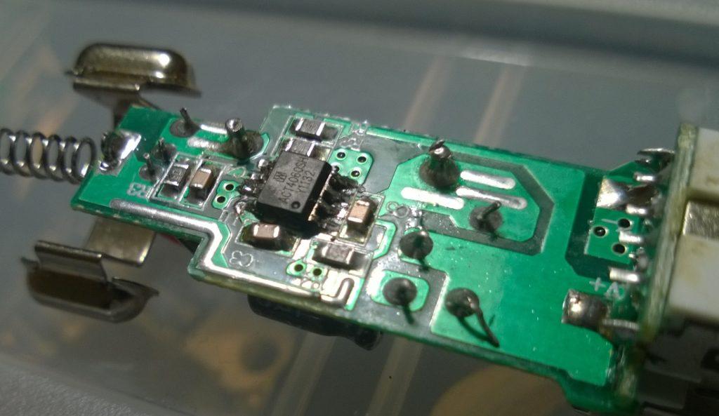 ремонт USB зарядного устройства