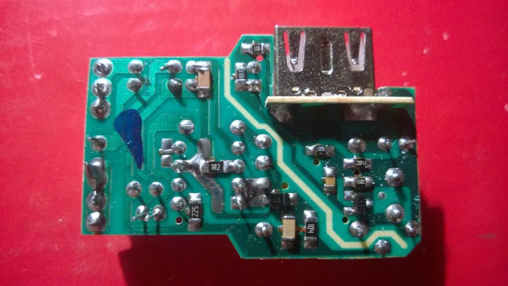 Ремонт USB зарядки на основе ШИМ HT204