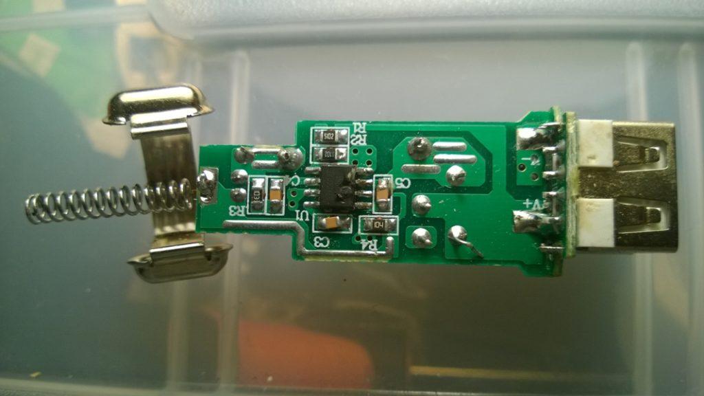 Ремонт USB зарядного адаптера