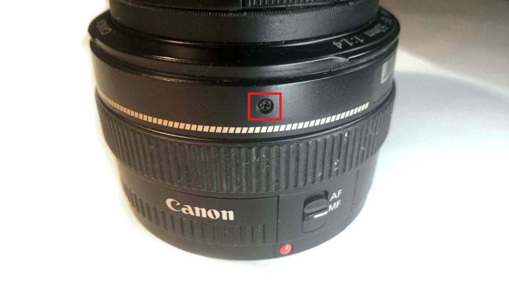 Canon EF 50mm f/1.4 USM разборка