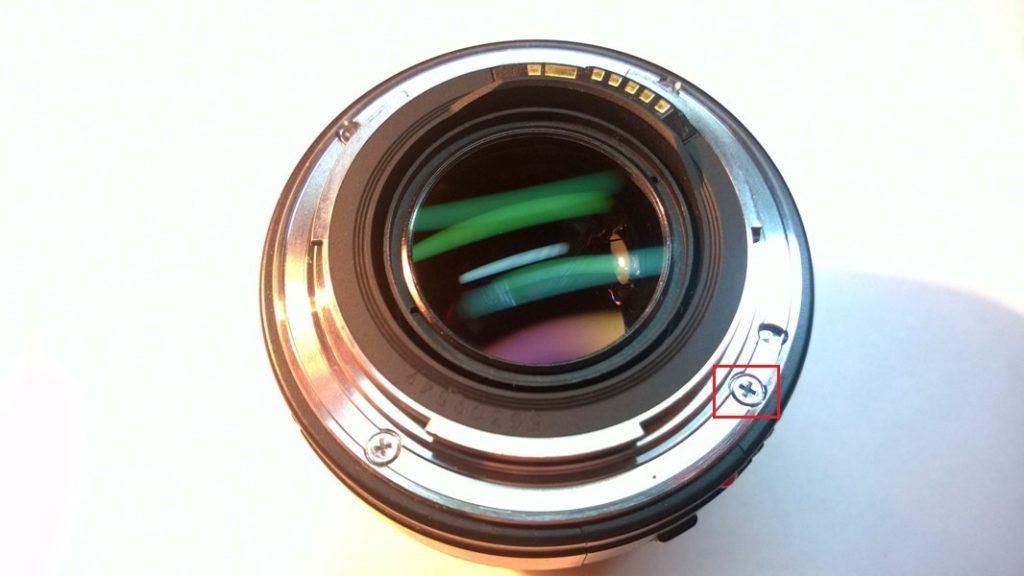 Canon EF 50mm ремонт своими руками